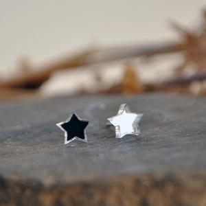 Зеркальные звездочки маленькие